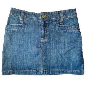 H&M Classic Denim Skirt